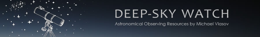 Deep Sky Watch - Astronomy sketching, observing resources by Michael Vlasov