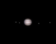 Amateur telescope jupiter