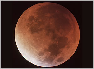 Photo of Supermoon eclipse, 2015 (super bloodmoon)