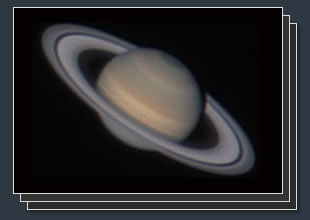 astrophotography of saturn