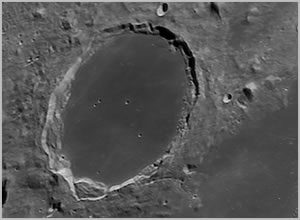 moon - plato crater