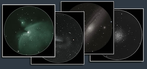 messier deep sky sketches
